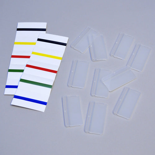 Ultimate Office Reference Organizer Pocket Tabs (set of 10) w/Labels