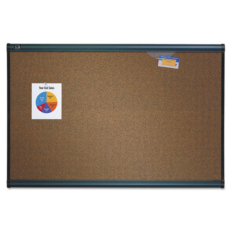Deluxe Cork Bulletin Board