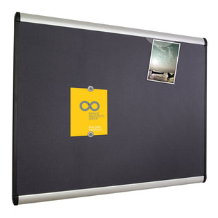 Deluxe Magnetic Fabric Bulletin Board