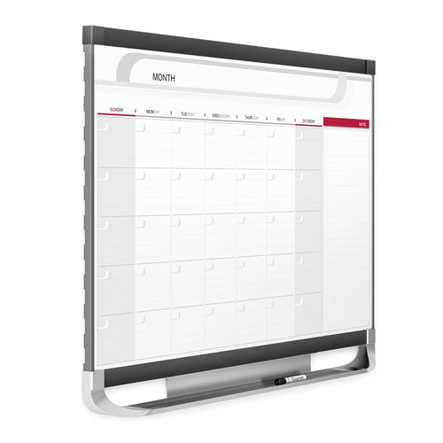 Deluxe Magnetic Monthly Planner w/ Graphite Accents