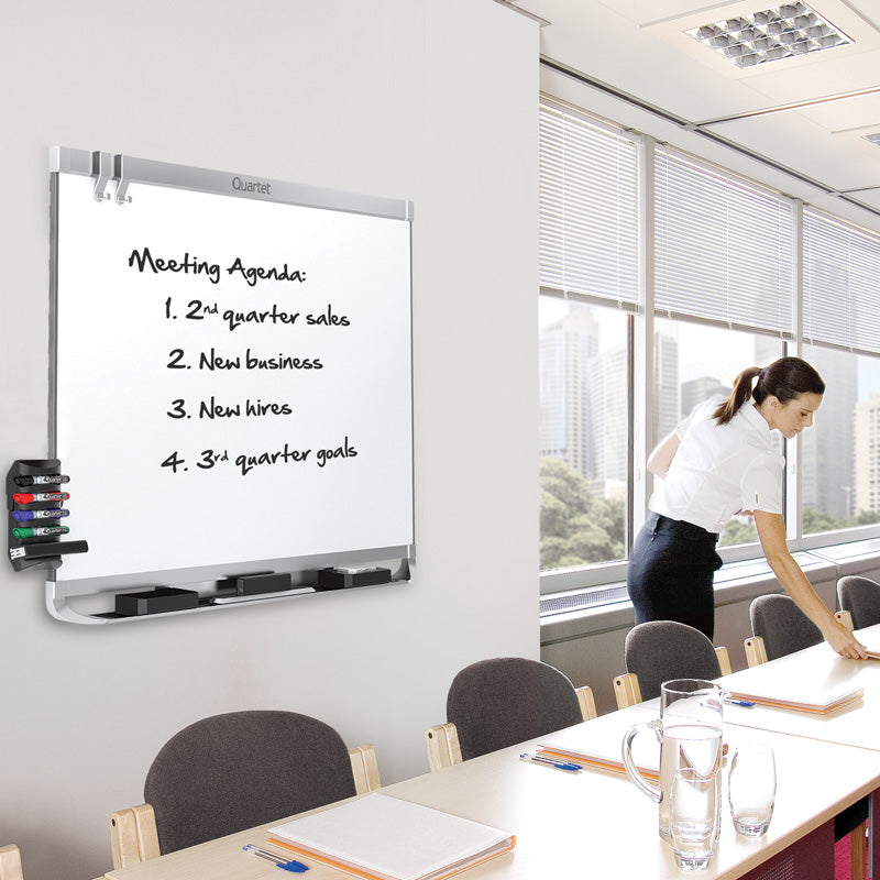 Deluxe Porcelain Magnetic Whiteboard