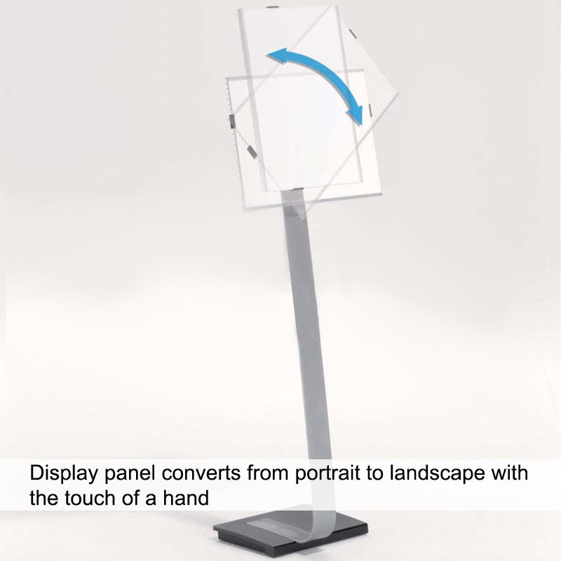 "Deluxe Rotating Sign Holder-11"" x 17"""
