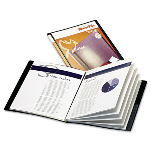 Display Book w/ Cover Pocket, Letter Size
