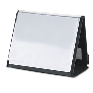 Display Easel, Horizontal, Letter Size, 20 Sleeves