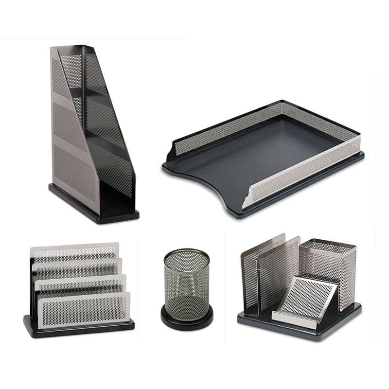 Distinctions business card holder silverblk ultimate office concepts business card holder silverblack colourmoves