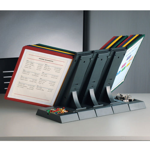 DocuMate® 30-Pocket Desk Reference Organizer PLUS+ Bonus Pocket