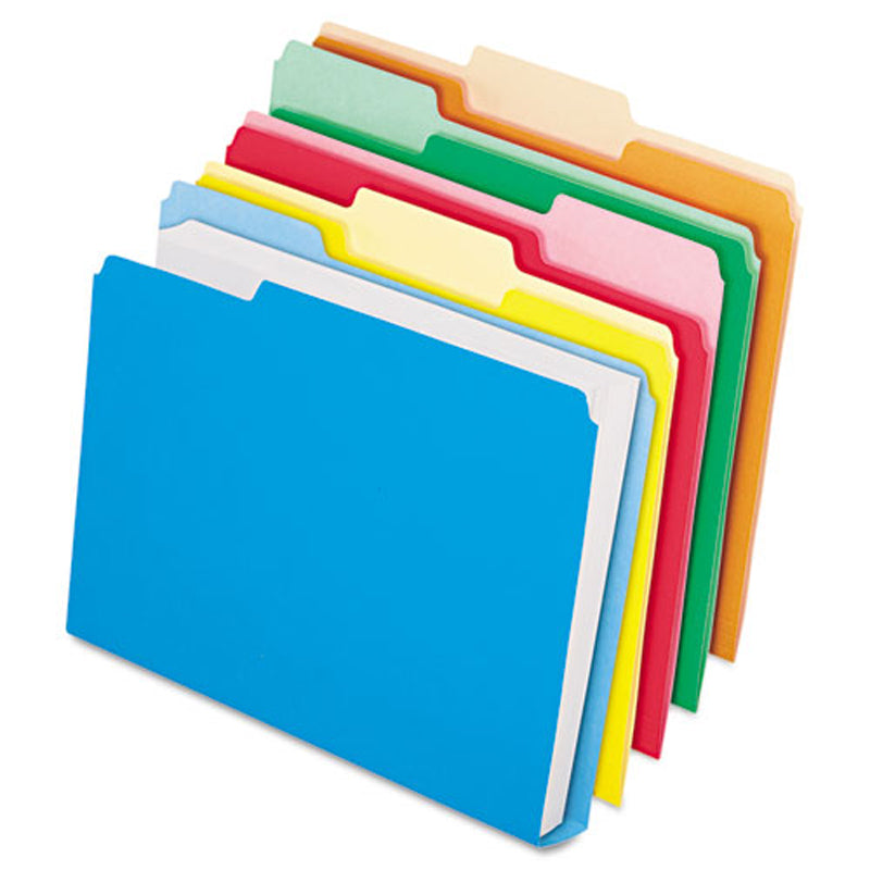 DoubleStuff File Folders, 3rd-Cut, Letter (50-pack)
