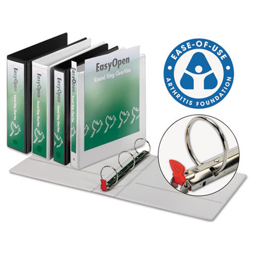 EasyOpen Locking Round Ring View Binder