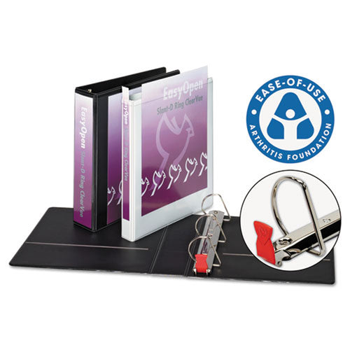 EasyOpen Locking Slant D-Ring View Binder