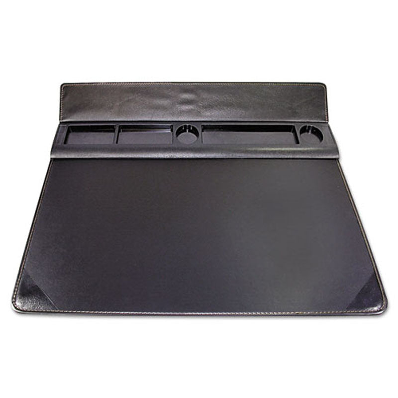 Executive Desk Pad with Storage Topper