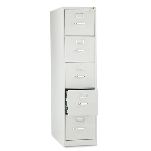 "Five-Drawer Vertical File, Letter, 28 1/2""d"