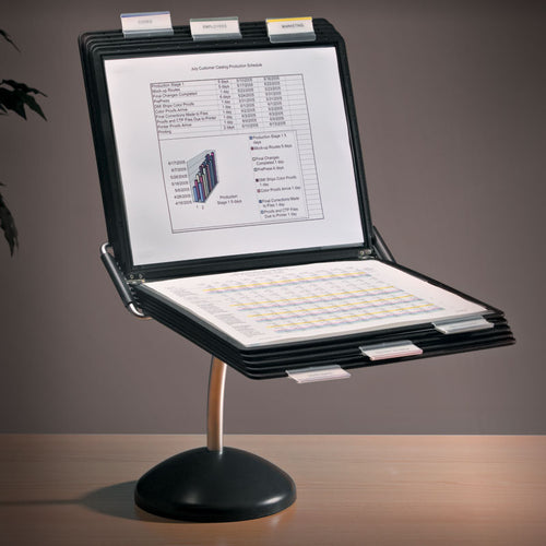 Flex 10-Pocket Executive Desktop Reference Organizer