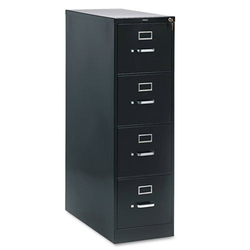 "Four-Drawer Vertical File, Letter, 28 1/2""d"