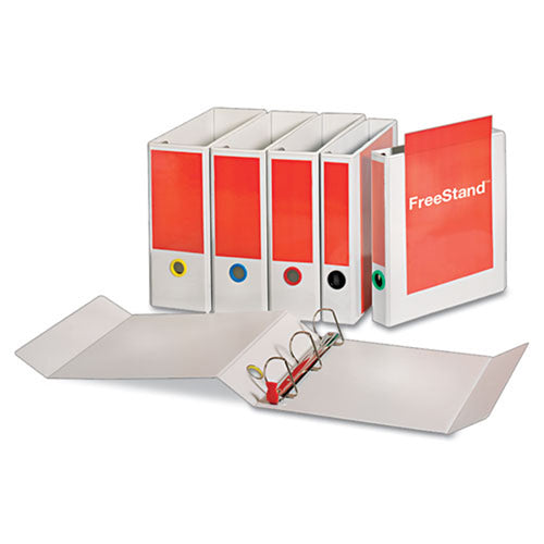 Free-Standing Locking Slant D-Ring View Binder