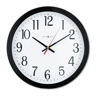 "Gallery 16"" Wall Clock, Black"