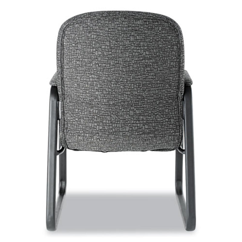 Genaro Sled Base High-Back Guest Chair