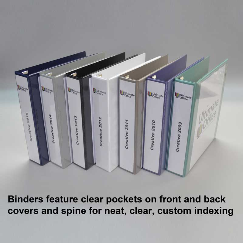 Heavy-Duty View Binder w/ One Touch EZD Rings