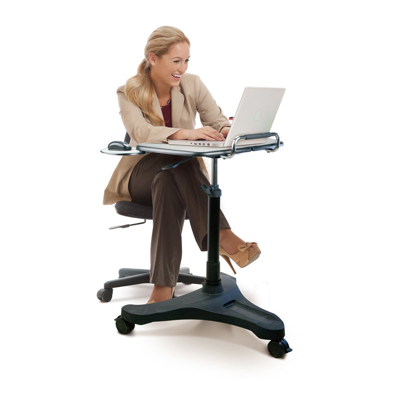 Height-Adjustable Laptop Desk (ABS Platform)