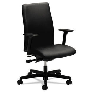 Ignition Low-Back Task Chair, Black w/Black