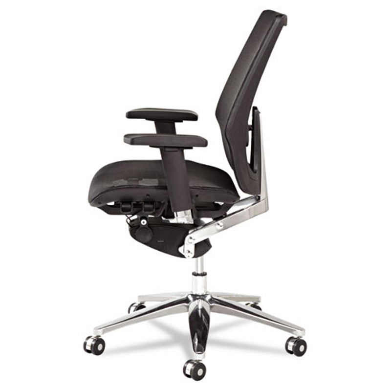 K8 Ergonomic Multifunction Mesh Chair, Chrome w/Black