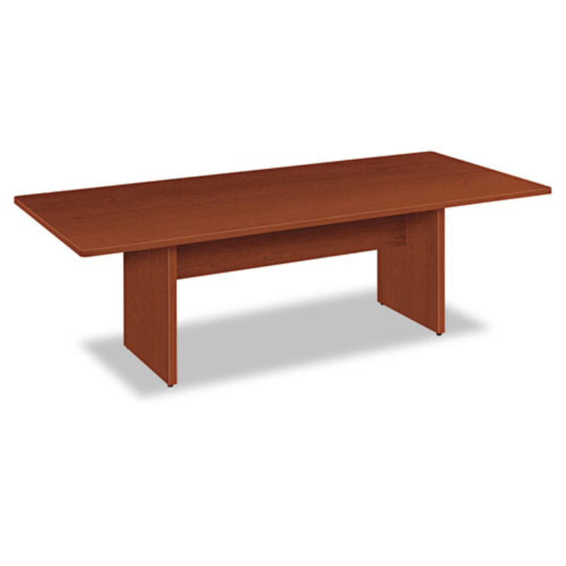 Laminate Rectangular Conference Table w/Slab Base