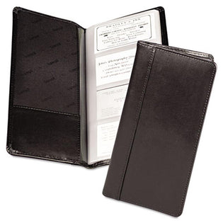 Leather Business Card File