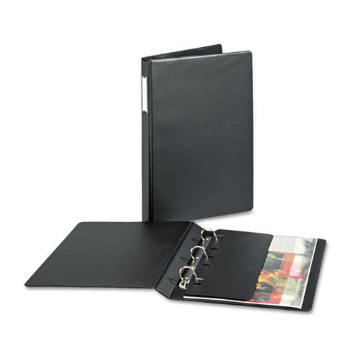 "Legal 14"" x 8 1/2"" Slant D-Ring Binder, Black"