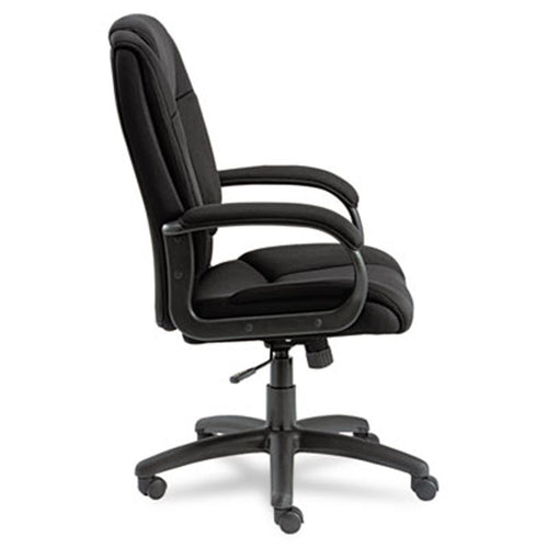 Logan Mesh High-Back Swivel/Tilt Chair, Black w/Black