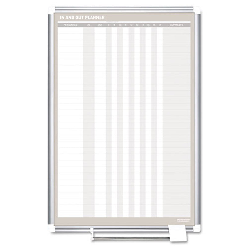 Magnetic 30-Name In/Out Dry-Erase Board, 24w x 36h | Ultimate Office
