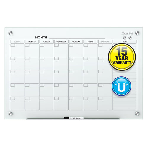 Magnetic Glass Monthly Planner