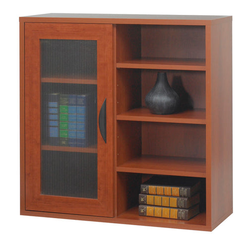 Modular Single Door/Open Shelves Cabinet