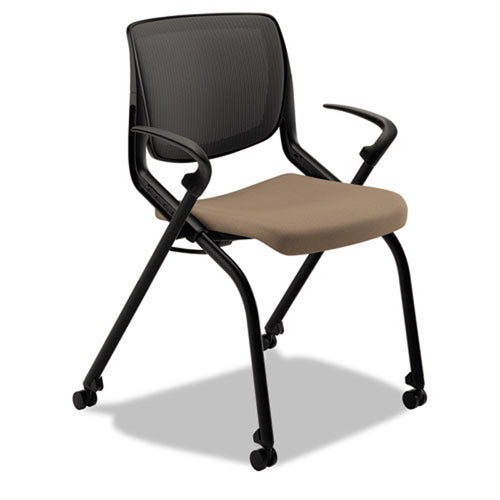 Motivate Nesting/Stacking Flex-Back Chair with Casters