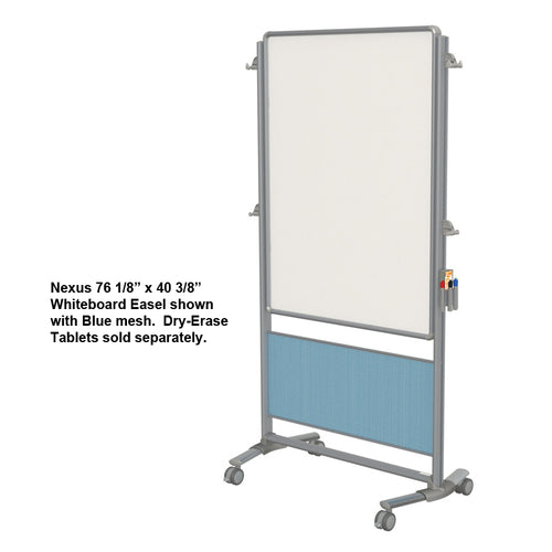 "Nexus 76 1/8"" x 40 3/8"" Whiteboard Easel"