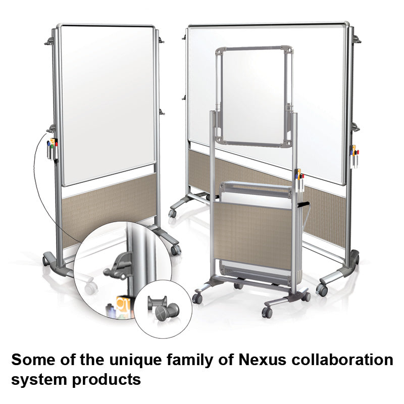 Nexus Tablet Caddy Set (includes 6 Dry-Erase Tablets & 6 Pair X-Pegs)