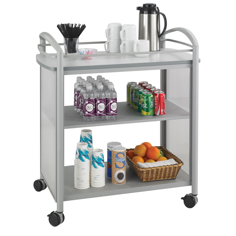 Open-Front Refreshment Cart
