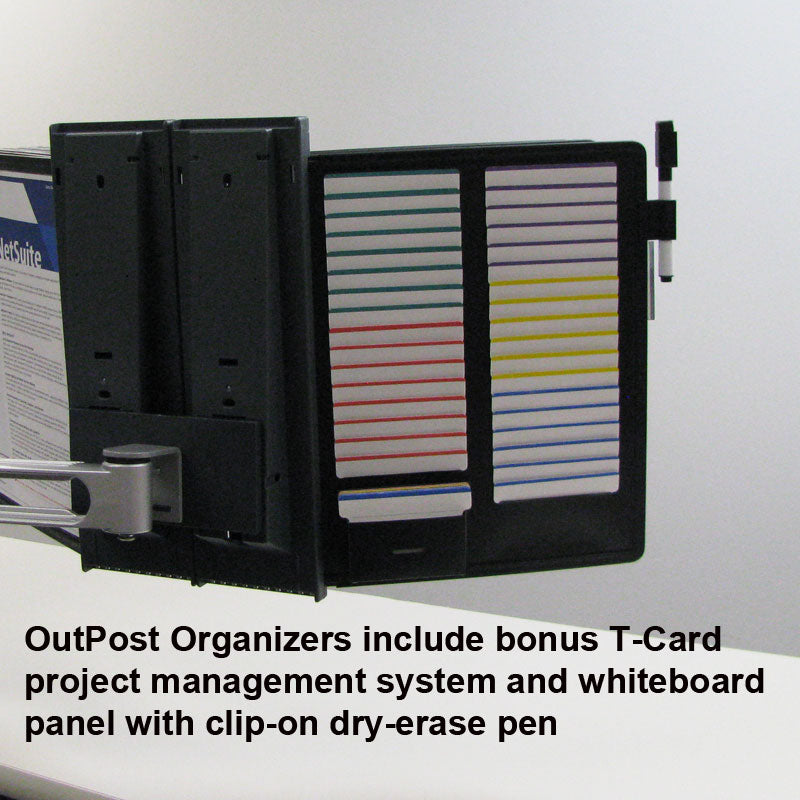 OutPost™ 10-Pocket 2-Link Reference Organizer (no Post)