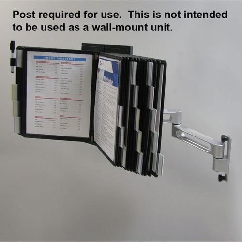 OutPost™ 20-Pocket 2-Link Reference Organizer (no Post)