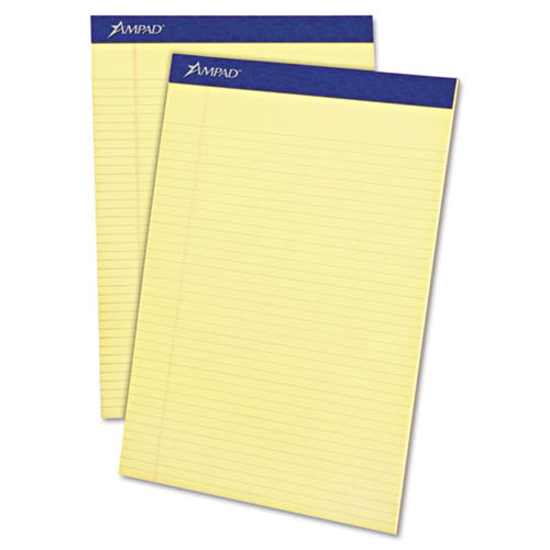 Perforated Writing Pads, Narrow Rule, Letter Size, 16# Paper (12-pack, 50 sheet pads)