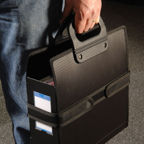 Ultimate Office PortaFile™ Carrier For Secure and Easy Transport of PortaFile Project Boxes, File Jackets, Expanding Files and Binders (Letter Size)