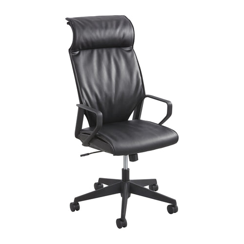 Priya High-Back Leather Executive Chair