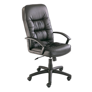 Serenity High Back Executive Chair Black