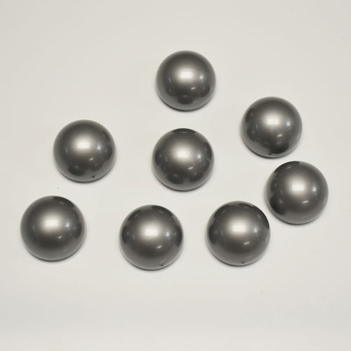 "Spherical Magnets, 1 3/8"" (set of 8), Silver"