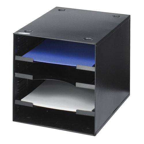 Steel 4-Compartment Desktop Organizer