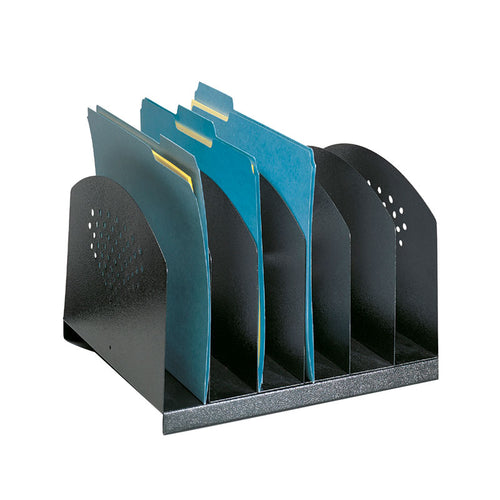 Steel 6-Section Desk Organizer
