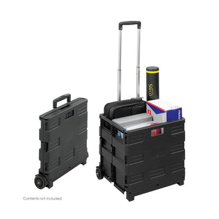 Stow-Away Crate Black