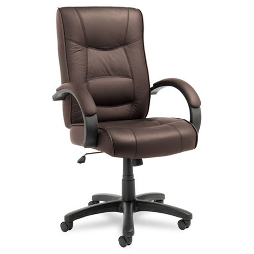 Strada High-Back Swivel/Tilt Chair, Black