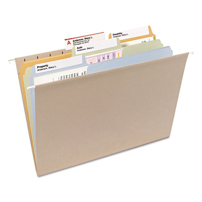 Supertab File Folders with X-tra Large Label Area, 3rd-Cut, Letter (box of 100)