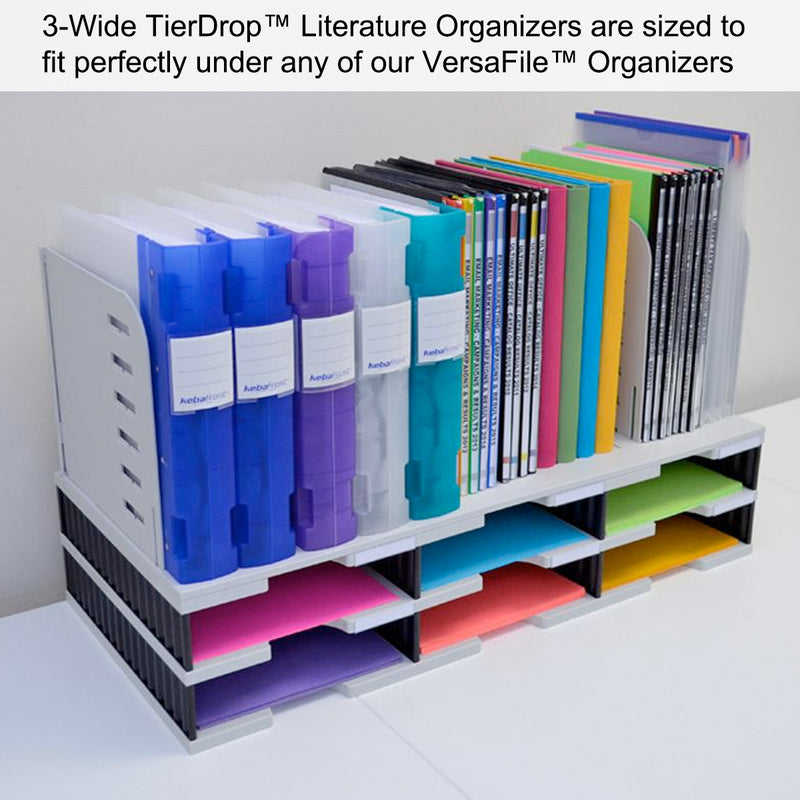 Ultimate Office 9-Slot High-Wall TierDrop™ Sorter