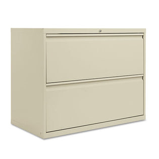 "Two-Drawer Lateral File Cabinet, 36""w x 28 3/8""h x 19 1/4""d"