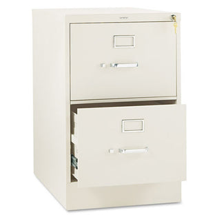 "Two-Drawer Vertical File, Legal, 26 1/2""d"